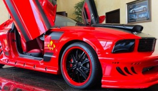 Mustang Supercharged S197 Red Mist